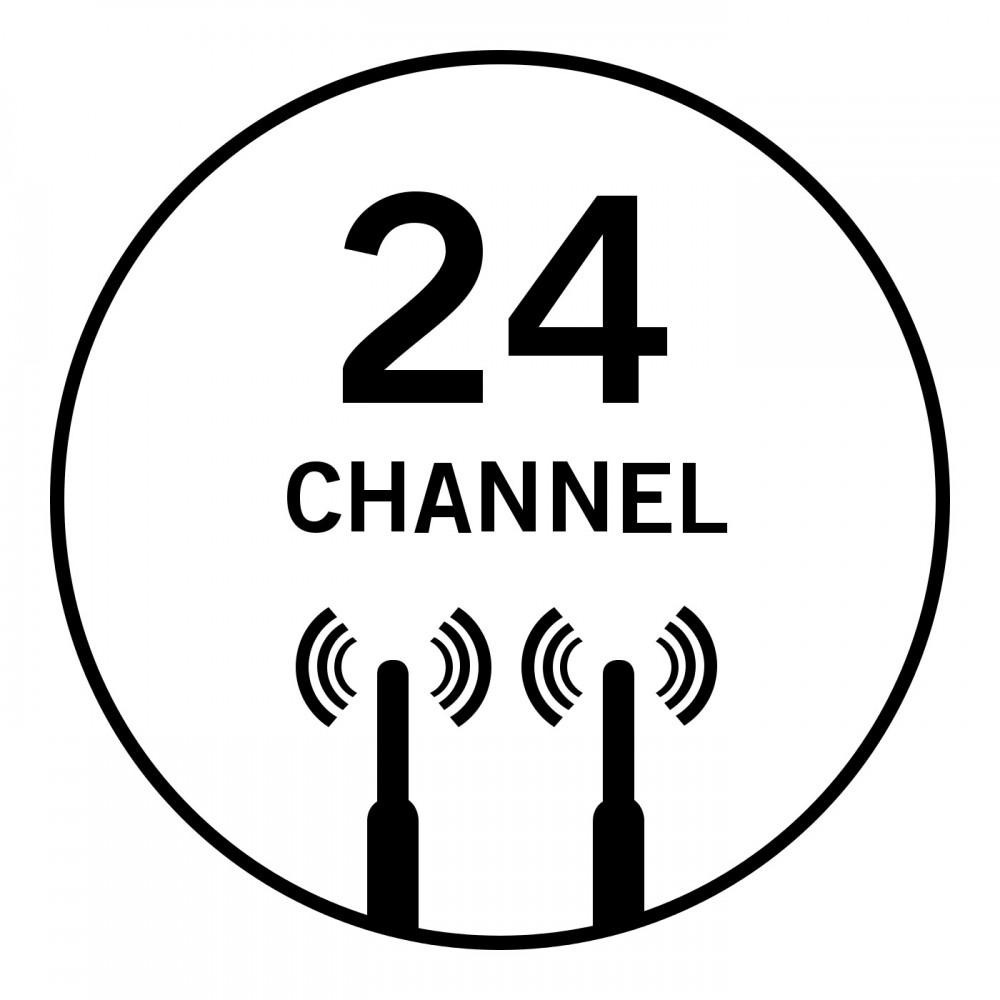 24 Kanäle