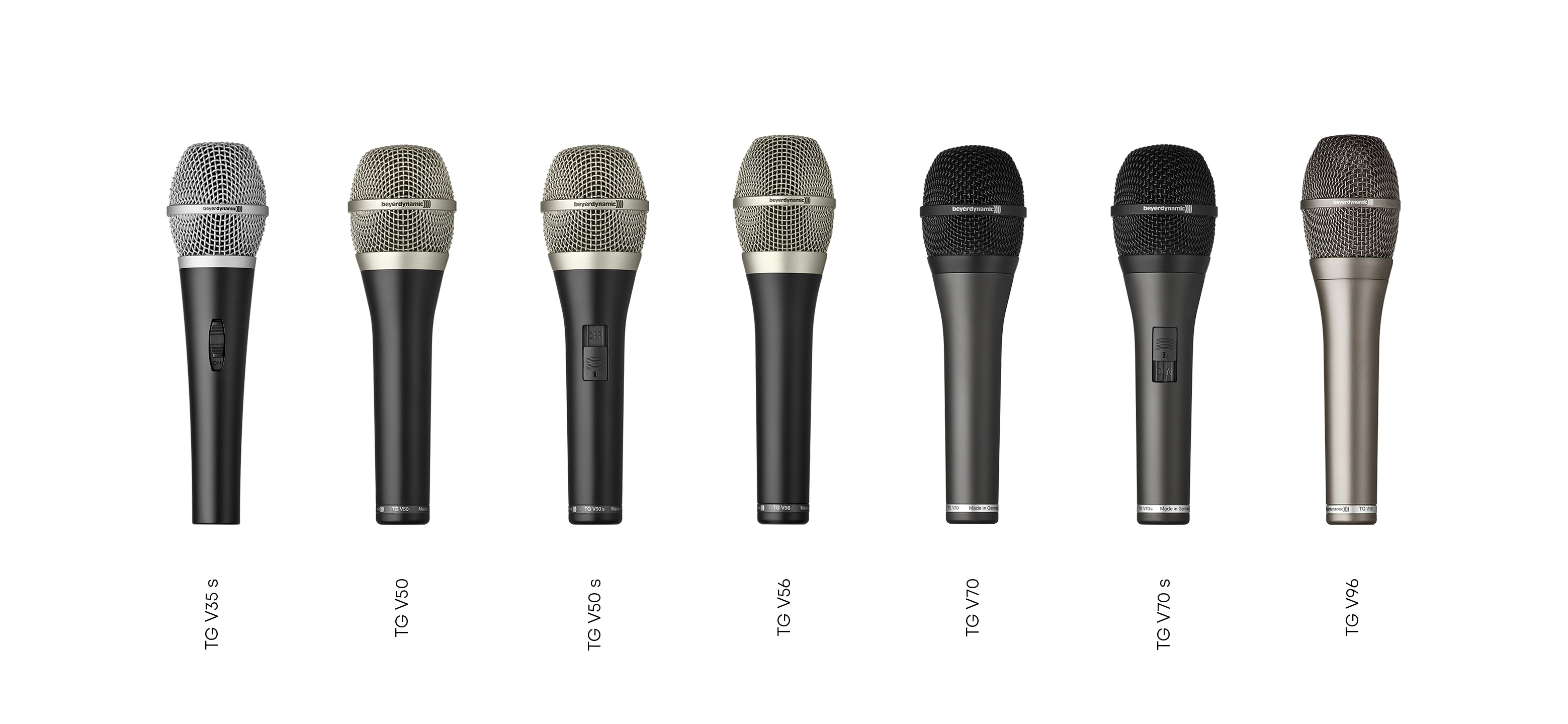 beyerdynamic Touring Gear Vocal Microphones
