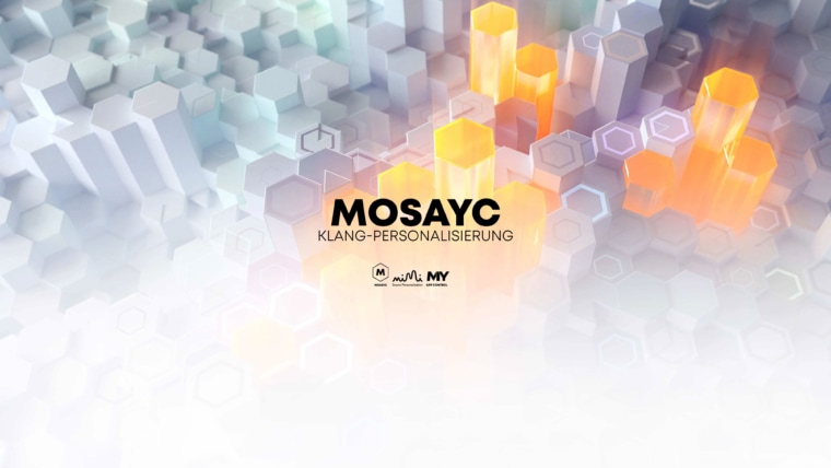 Mosayc Klang-Personalisierung