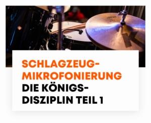 beyerdynamic Schlagzeugmikrofonierung