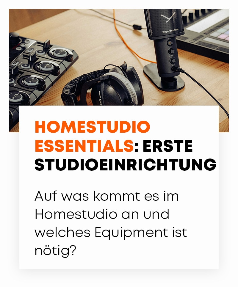 beyerdynamic Homestudio essentials blog
