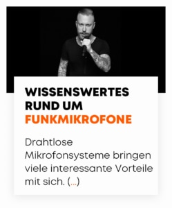 beyerdynamic Blog Wissenswertes rund um Funkmikrofone