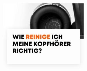 beyerdynamic blog Reinigung Kopfhörer