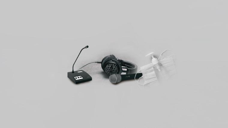 beyerdynamic Mikrofone Sprechstellen Kopfhörer Hygiene
