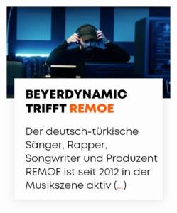 beyerdynamic trifft REMOE