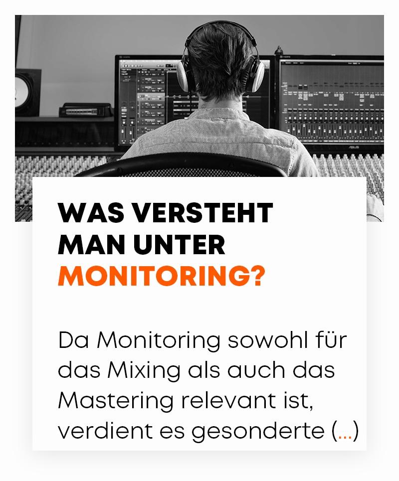 Was versteht man unter Monitoring?