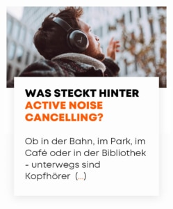 beyerdynamic Was ist Active Noise Canceling