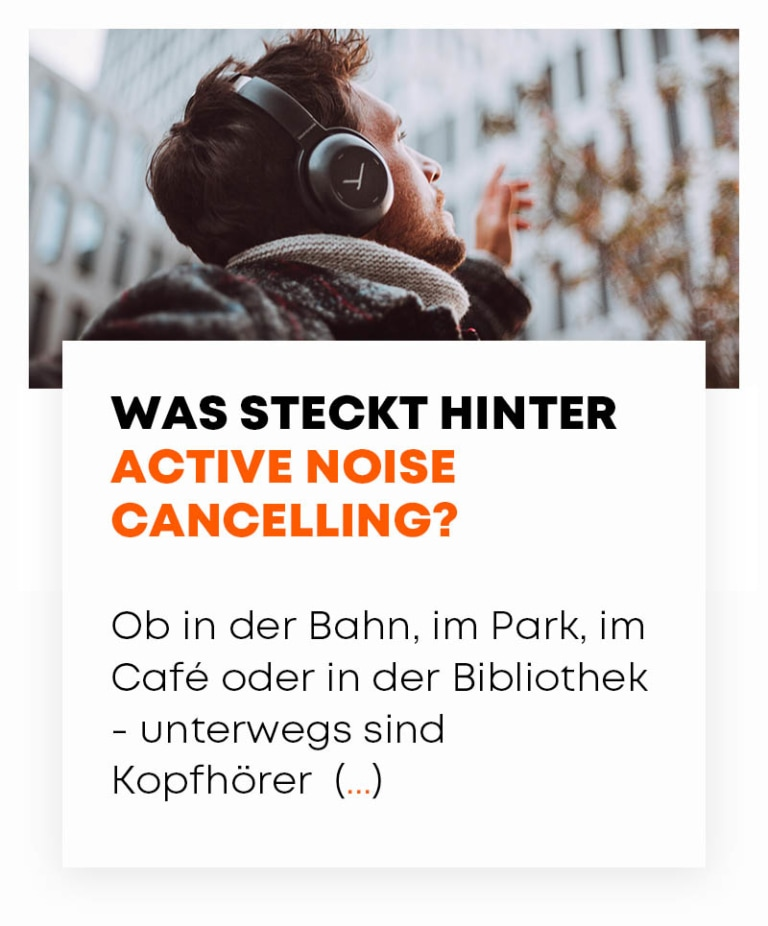 beyerdynamic Was ist Active Noise Canceling