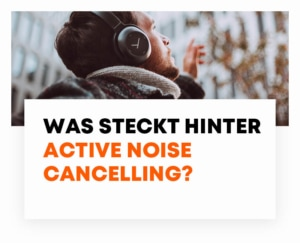 beyerdynamic was ist Active Noise Cancelling