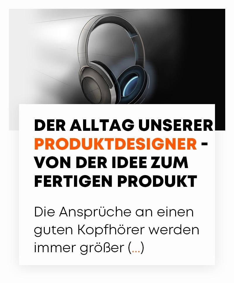beyerdynamic Der Alltag unserer Produktdesign