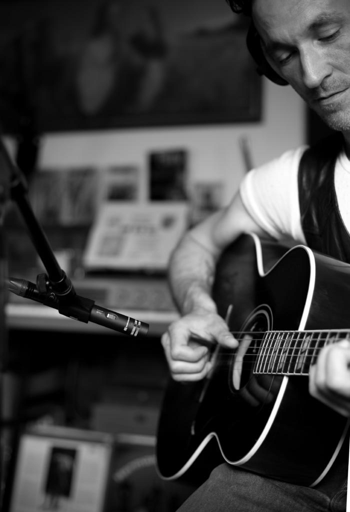 Recording Akustikgitarre