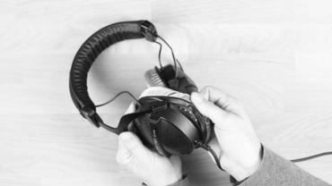 Ohrpolster wechseln bei PRO Kopfhörer
