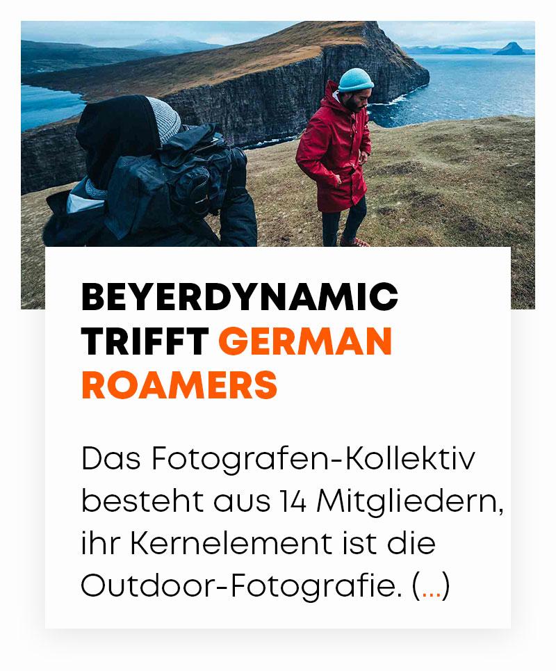 beyerdynamic trifft Germany Roamers