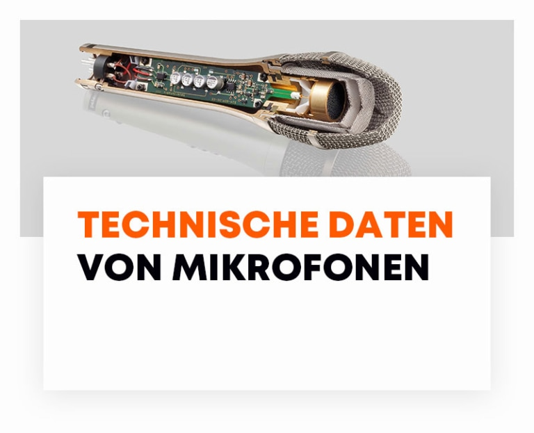 beyerdynamic Technische Daten Mikrofone