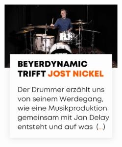 beyerdynamic trifft Jost Nickel