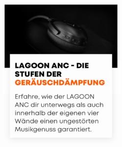 beyerdynamic LAGOON ANC Dämpfung