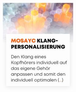 beyerdynamic MOSAYC Klang-Personalisierung